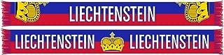 World Cup Soccer Liechtenstein International Soccer Team Scarves, One Size, Red