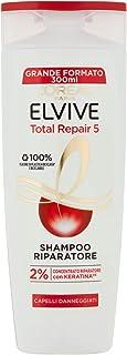 L'Oréal Elvive Shampoo Ricostituente per Capelli Sciupati, 300ml