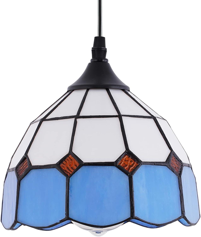HMVPL Farmhouse Pendant Limited price Light Fixtures Li Tiffany Popular popular Hanging Glass