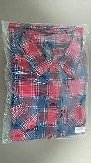 B'z ビーズ LIVE-GYM Pleasure 2013 ENDLESS SUMMER 稲葉浩志 復刻版 チェック ネルシャツ Lサイズ 購入特典ポストカード付き