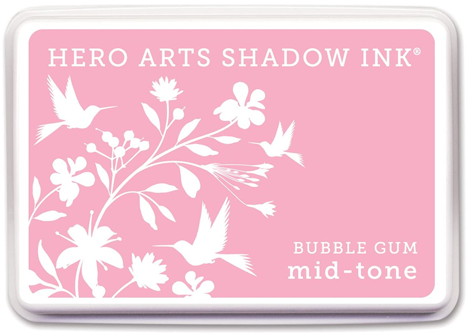 Hero Arts Rubber Stamps AF208 Shadow Ink Mid-Tone, Bubble Gum