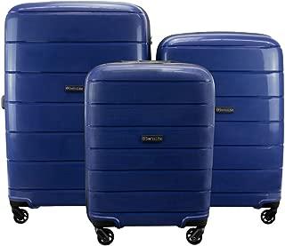 SwissLite SG665-3pc-B Eiger 3pc Set Blue 43 litres, 75 litres, 124 litres