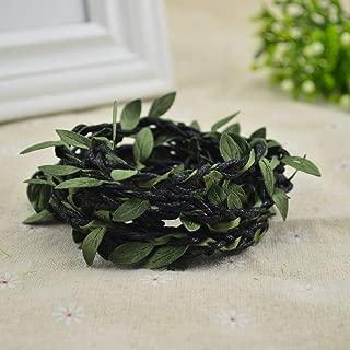 Linker Wish Year-Round Wreath 100cm/lot Artificial Flowers Vine Christmas for Home Wedding Decor Bridal Accessories Fake floristics DIY Wreath Gifts Black