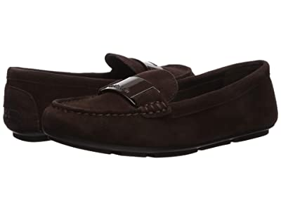 Calvin Klein Lisette Loafer (Coffee Bean Leather/Suede) Women