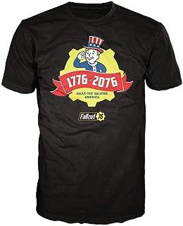 Fallout 76 Vault Tec Salutes America Men's Adult Graphic Tee T-Shirt