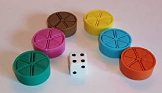 Trivial Pursuit Replacement Game Pieces