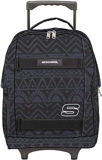 سكيتشرز حقائب ظهر مدرسية للجنسين، اسود