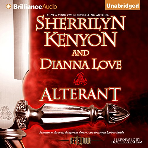 Alterant audiobook cover art