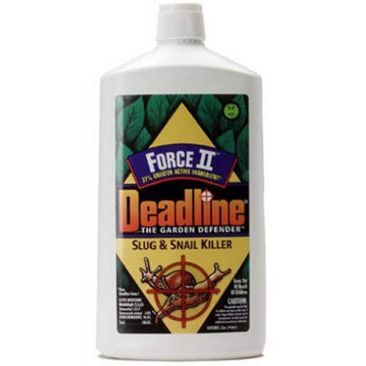Deadline 376 100509275 Force II Slug and Snail Killer, 1-Quart