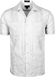 Men's Short Sleeve Cuban Guayabera Shirts
