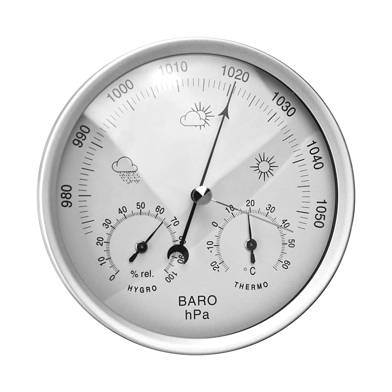 3 in 1 Weather Station Over item handling for Outdoor Store Indoor Barometer and Thermom