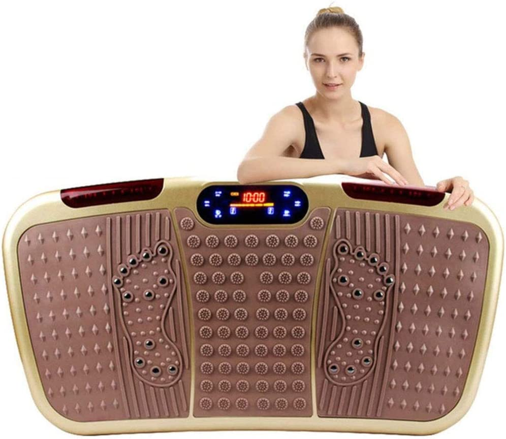 XYWCHK Vibration Plate Exercise Machine Fitne In stock Whole Body Max 52% OFF Workout
