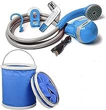 Travel Bidet Hose Spray with Foldable Bucket