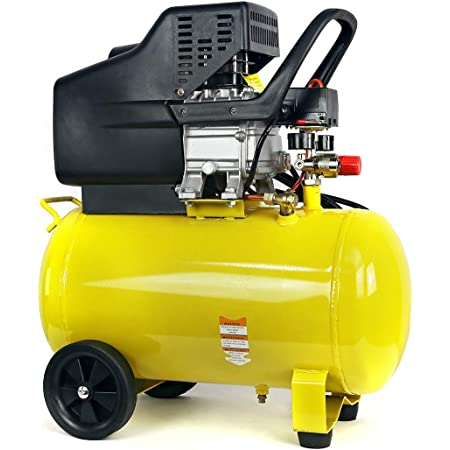 Stark Portable Quiet Air Compressor 10-Gallon Tank 3.5HP Air Compressortra Quiet Compressor w/Wheel