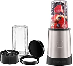 Chefman Personal Ultimate Kitchen Blender Quick Portable Blending of Shakes, Smoothies, Baby Food & Juice, 2 Travel Cups, ...