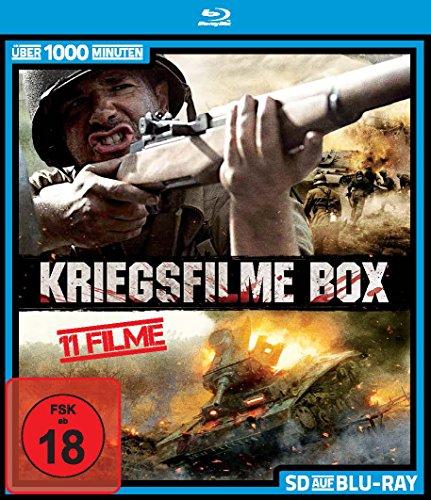 Kriegsfilme Box - 11 Filme (SD auf Blu-ray)