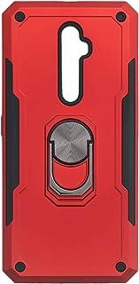جراب خلفى قوى آيرون مان بحلقة معدنية ومسند لاوبو رينو2 Z - احمر