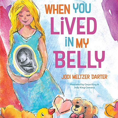 When You Lived in My Belly audiobook cover art