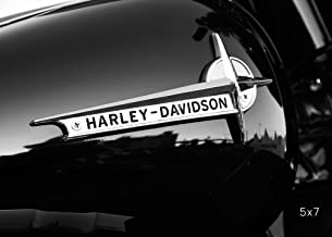 """Harley Davidson photo print, motorcycle art, 5x7 to 30x45"""" large wall décor, paper or canvas picture"""