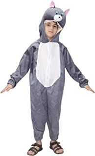 Cat Cartoon Costume -Grey,for Boys & Girls