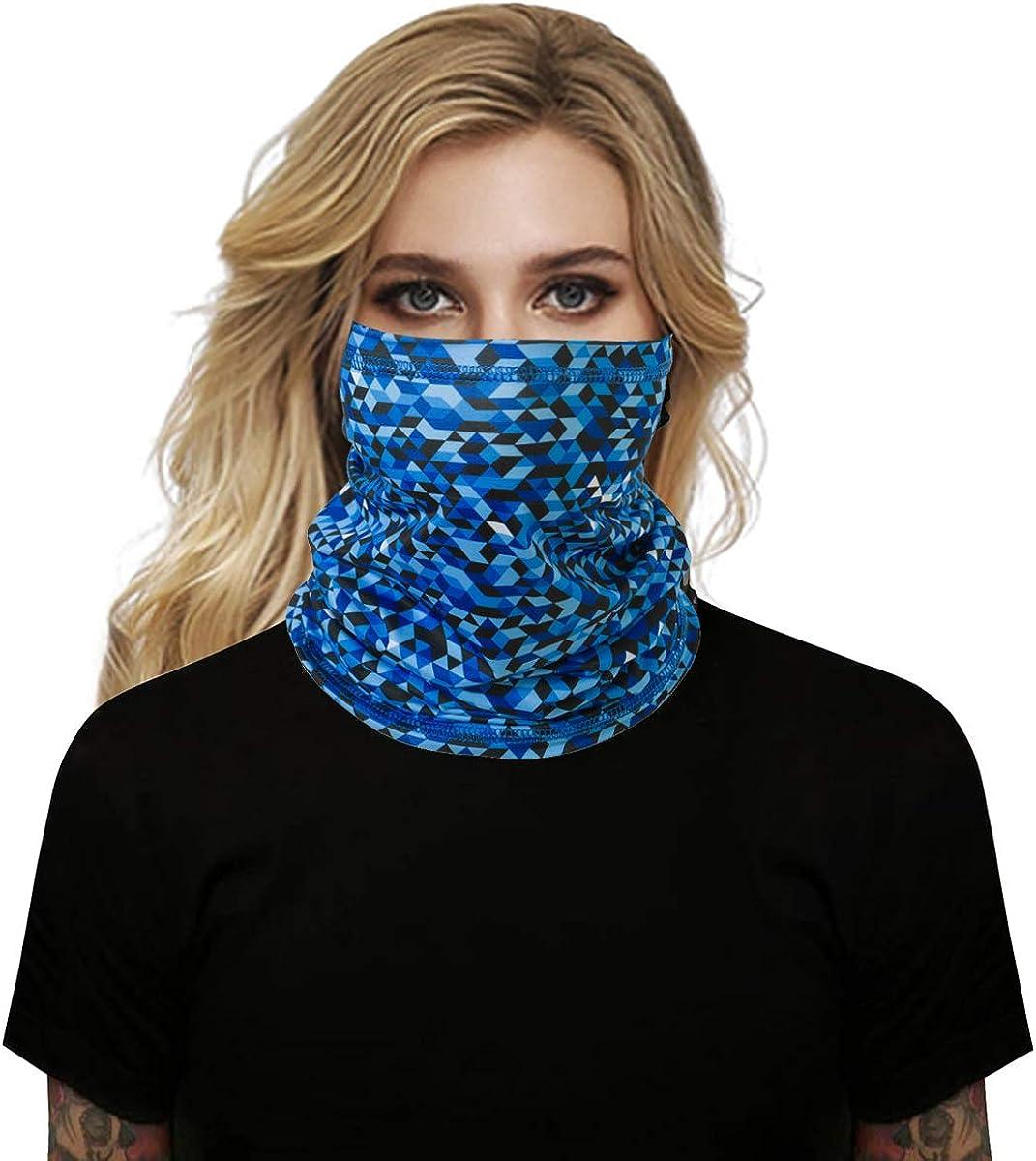 Kopfbedeckung aus elastischem R/öhrenschal Bandana Stirnband Leichtes atmungsaktives 3D Magic Multi Use Snood f/ür Yoga Running Wandern Radfahren BOER Multifunktionales Stirnband