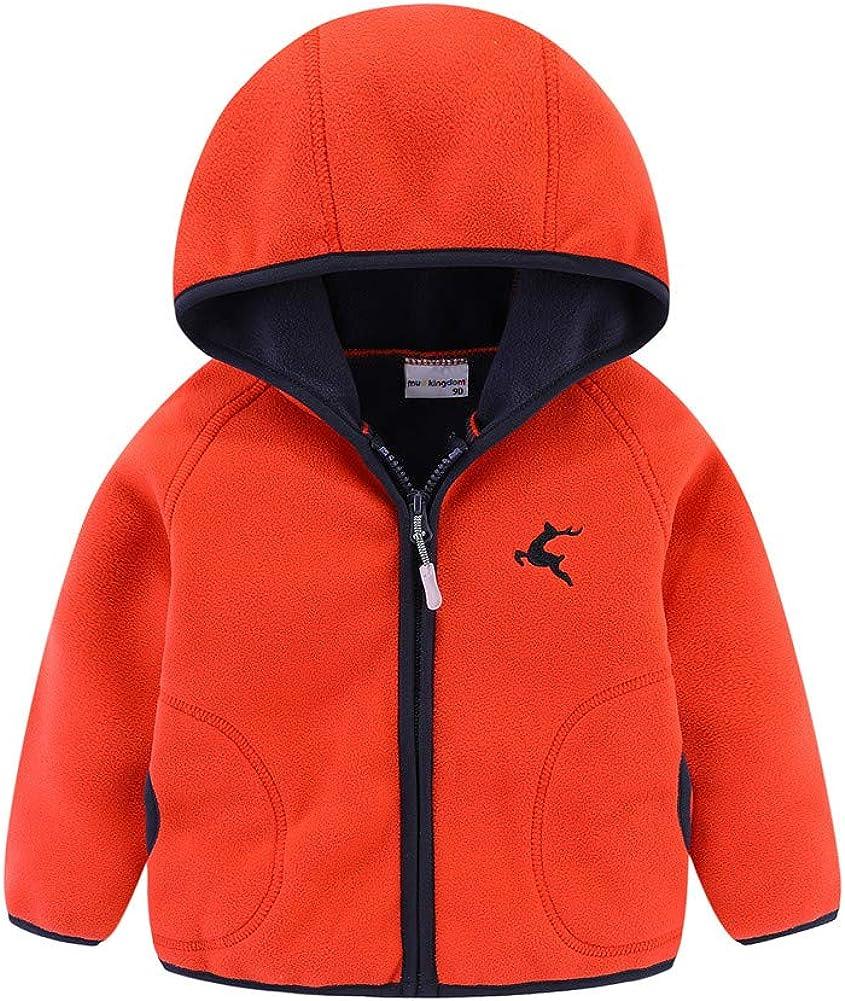 LittleSpring Little Girls Challenge the lowest price of Long-awaited Japan Boys Full-Zip Jacket Polar Fleece with