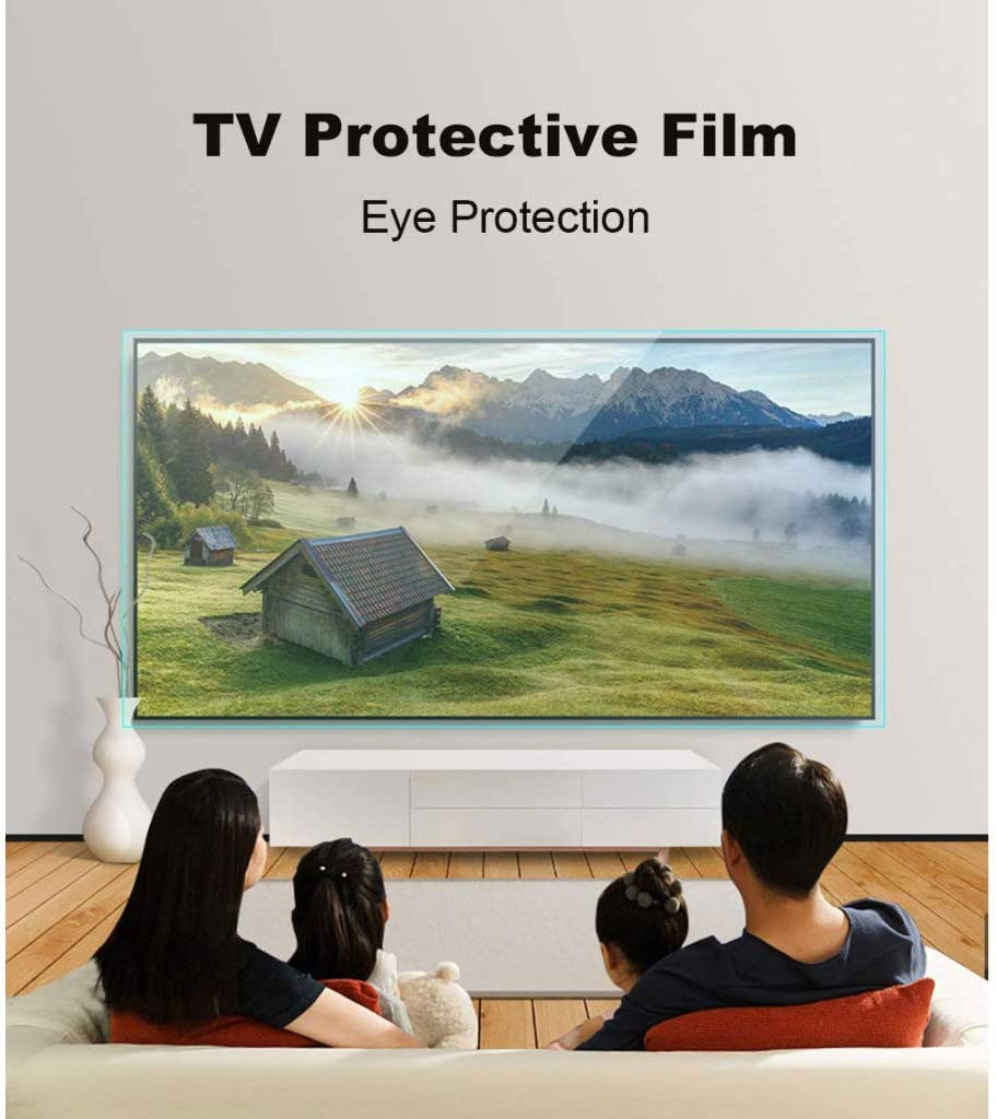 LOOML 40 inch TV Screen Protector HD Eye Protection Screen Protector Ultra Clear Protector Film Easy to fit,A/_40 inch