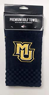NCAA Marquette Golden Eagle Embroidered Golf Towel