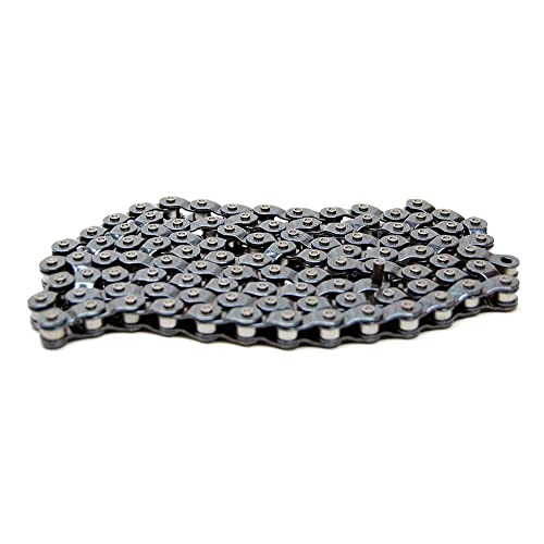 "Silver Bicycle Chain 1//2/"" x 1//8/"" BMX Track Single-Speed Half Link Bike Cycling"