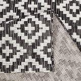 carpet city Outdoor-Teppich Wetterfest Balkon Terrasse Modern Geometrisches Muster in Anthrazit; Größe: 160x230 cm - 6