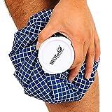 Neotech Care - Eisbeutel - Kühlbeutel mit Schraubdeckel - wiederverwendbarer, nachfüllbarer Beutel - Blau - 12 cm