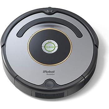 iRobot Roomba 615 - Robot aspirador para suelos duros y alfombras, con tecnología Dirt Detect, sistema de limpieza en 3 fases: Amazon.es: Hogar