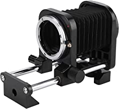 Vbestlife Macro Camera Extension Bellows with Tripod Mount Macro Camera Bellows for Nikon, Sony AF, Canon EOS Digital Cameras.(for Sony)