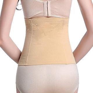 Cocosmart Waist Trainer Belt Waist Cincher Trimmer Belt Girdles Postpartum Waist Slimming Stomach Stretcher Woman Trainer Body Shaper Belt (Xs S)