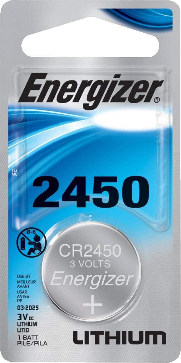 Energizer 2021 new CR2450 Lithium Battery 2 3v ECR2450 PK Max 76% OFF