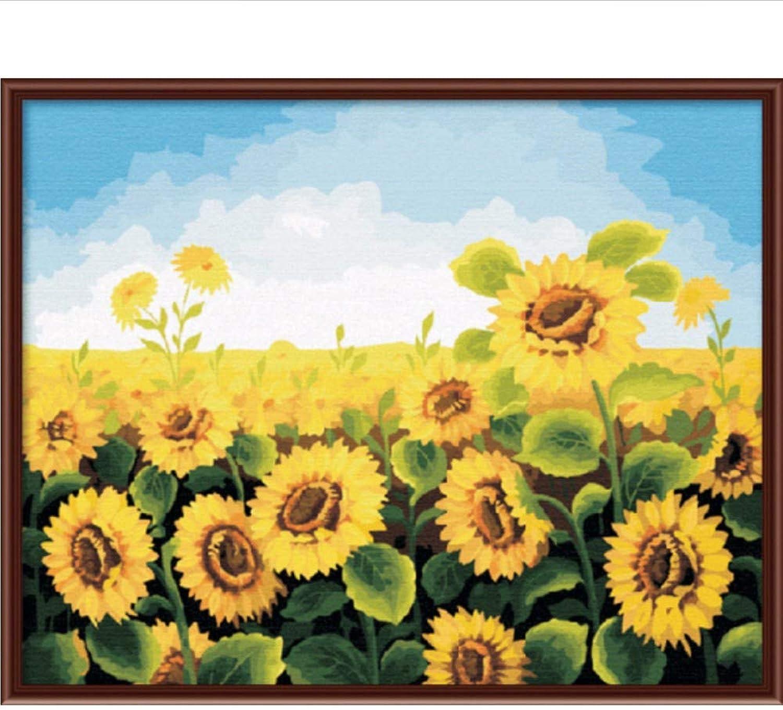 Waofe Diy Malen Nach Zahlen Keine Rahmen Zeichnung Kits Malen Auf Leinwand Einzigartig Für Home Wandkunst Bild B07PVSB5TY | Qualität und Verbraucher an erster Stelle