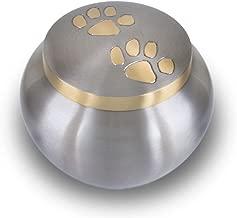 (Large, Pewter) - Odyssey Series Pet Cremation Urns