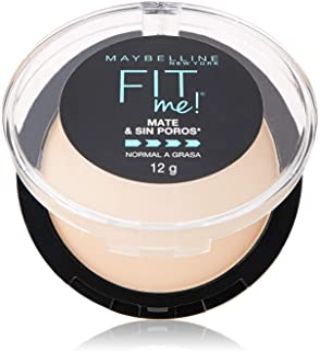 Maybelline Super Natural Polvo Compacto Matte, 220 Nat Beige, 12 gr