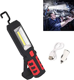 Flashlight Lamp with Hanging Hook for DIY Boating COB LED Inspection Lamp Camping Emergency Light HULYZLB Work Light Inspection Lamp