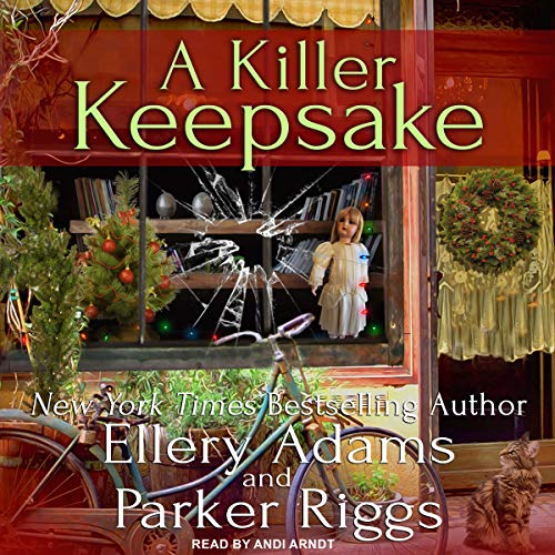 A Killer Keepsake audiobook cover art