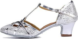 Women's Fashion Ballroom Party Glitter Latin Dance Shoes Model CMJ-511
