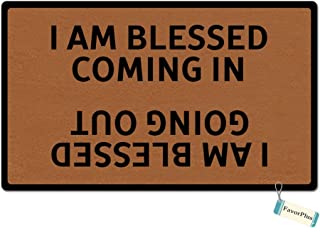 blessed coming in blessed going out doormat
