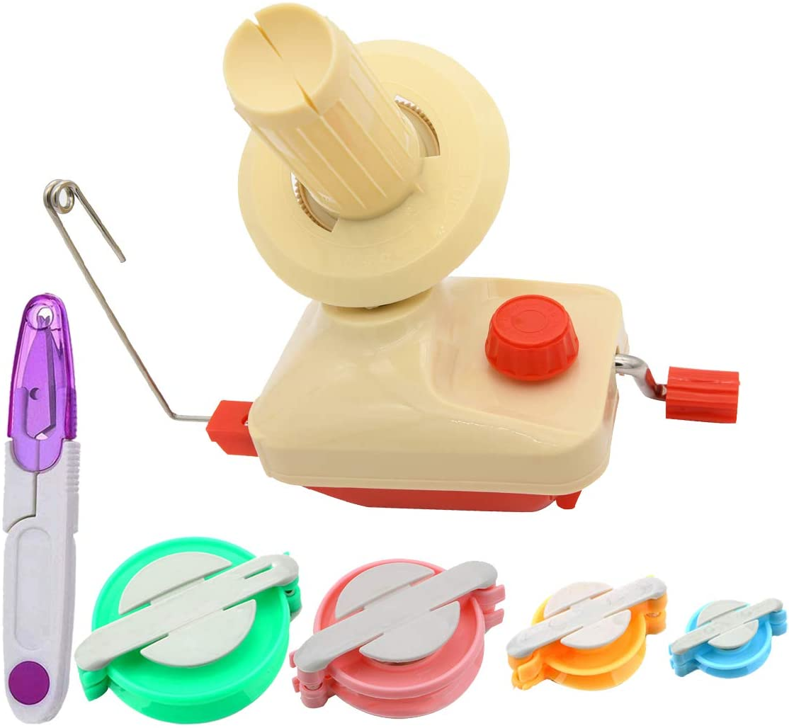 JOD Yarn Ball Winder Manual Fiber Max 88% Cheap mail order specialty store OFF Kit Tool Wool for