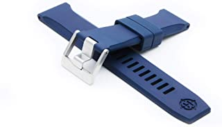 RS1 Rubber Watch Strap - Blue
