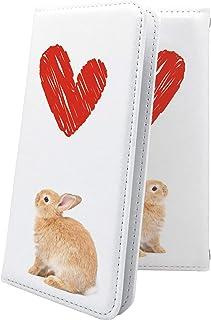 G2 mini LG-D620J / G2 L-01F / for BIGLOBE マルチタイプ マルチ対応ケース ケース 手帳型 かわいい 可愛い kawaii lively ウサギ 兎 兔 エルジー ミニ ビッグローブ ビグローブ ジー2 ...