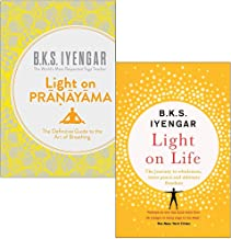 Light on Pranayama, Light on Life 2 Books Collection Set By B.K.S. Iyengar