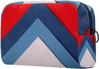 Colorful Paper Makeup Bag Toiletry Bag for Women Skincare Cosmetic Handy Pouch Zipper Handbag