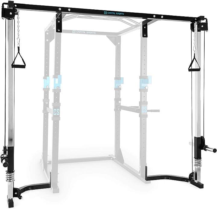 Stazione allenamento cavi estensione rack capital sports FIT20-1300-vhie