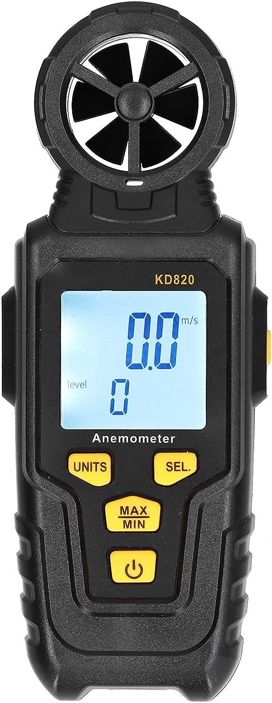 2021 Digital Anemometer Handheld Portable Speed Wind Soldering Meter Accurate
