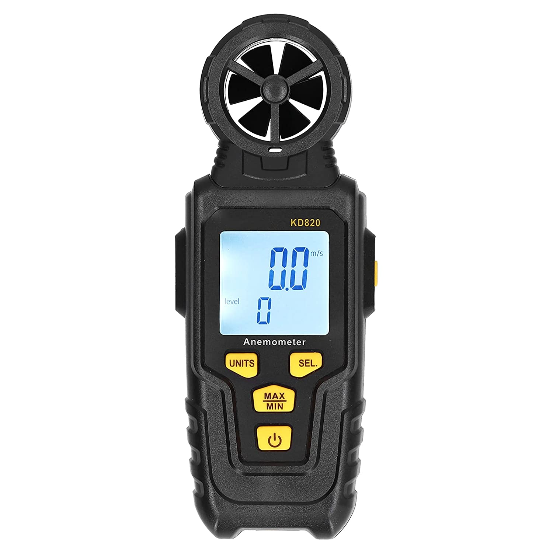 Excellence Max 51% OFF Anemometer Handheld Digital LCD Backlight Speed Wind Meter Gaug